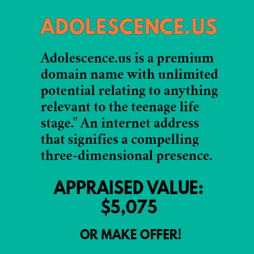 ADOLESCENCE.US