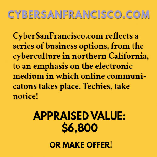 CYBERSANFRANCISCO.COM