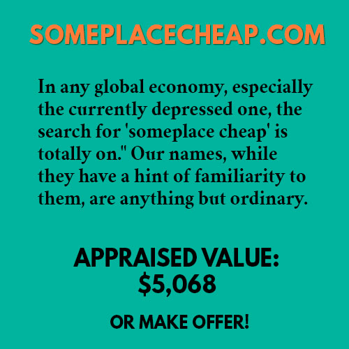 SOMEPLACECHEAP.COM