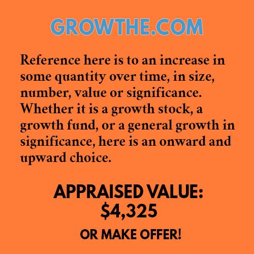 GROWTHE.COM