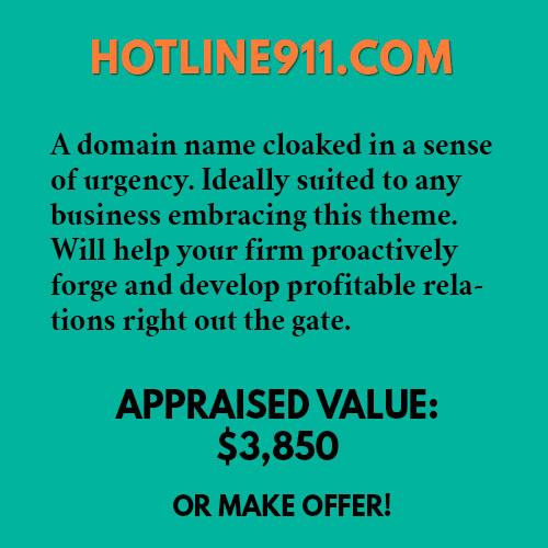HOTLINE911.COM