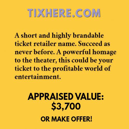 TIXHERE.COM