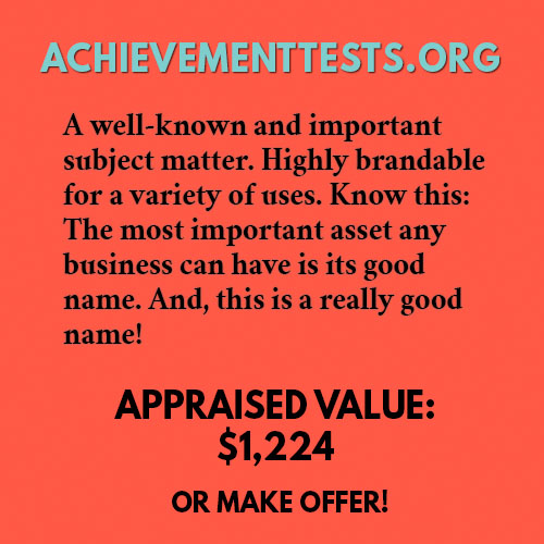 ACHIEVEMENTTESTS.ORG
