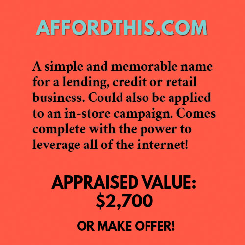 AFFORDTHIS.COM