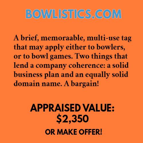 BOWLISTICS.COM