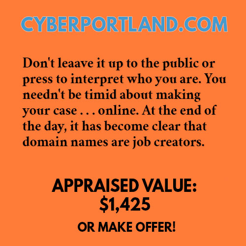 CYBERPORTLAND.COM