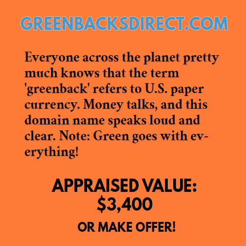 GREENBACKSDIRECT.COM