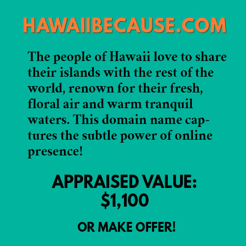 HAWAIIBECAUSE.COM