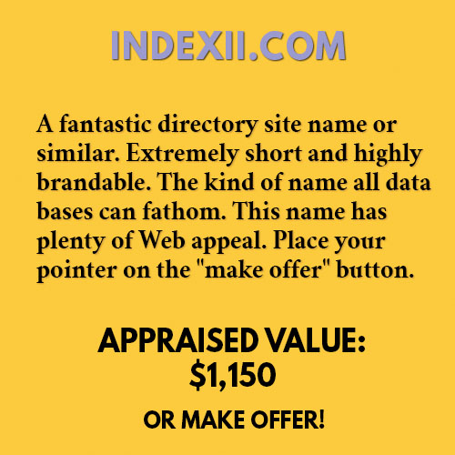 INDEXII.COM