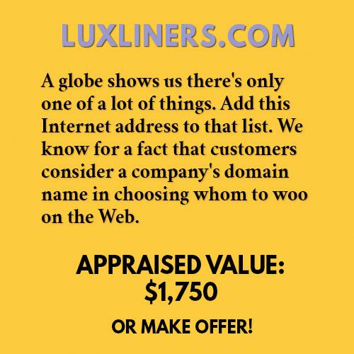 LUXLINERS.COM