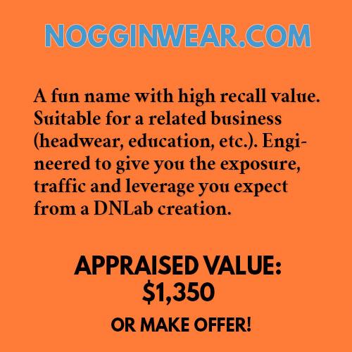 NOGGINWEAR.COM