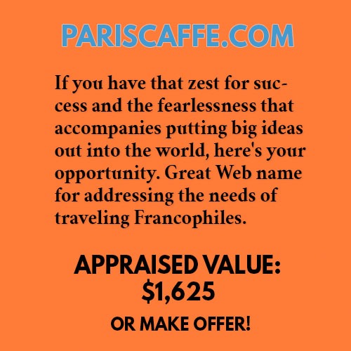 PARISCAFFE.COM