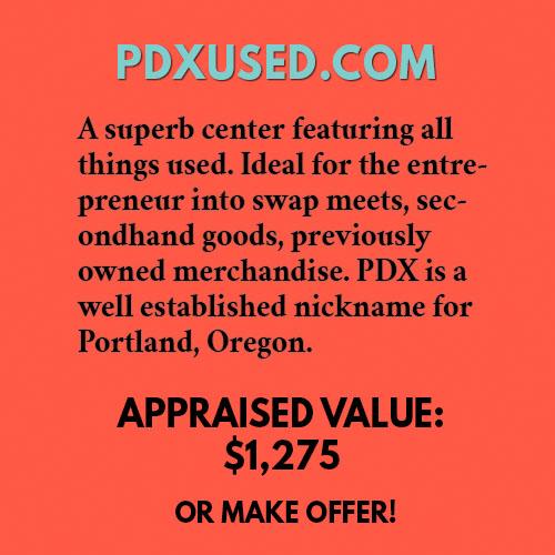 PDXUSED.COM