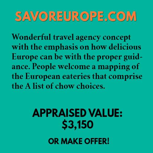 SAVOREUROPE.COM