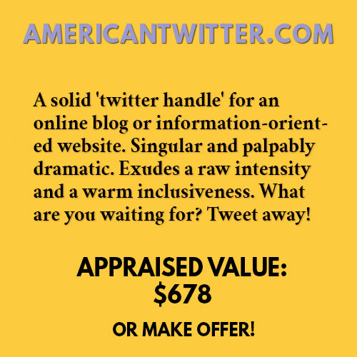 AMERICANTWITTER.COM