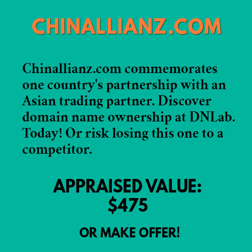 CHINALLIANZ.COM
