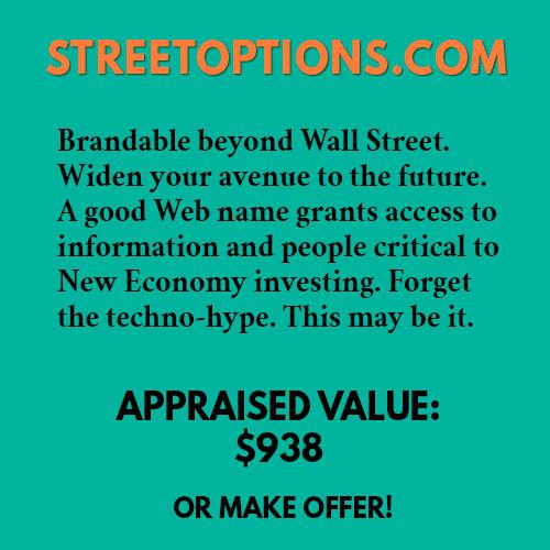 STREETOPTIONS.COM