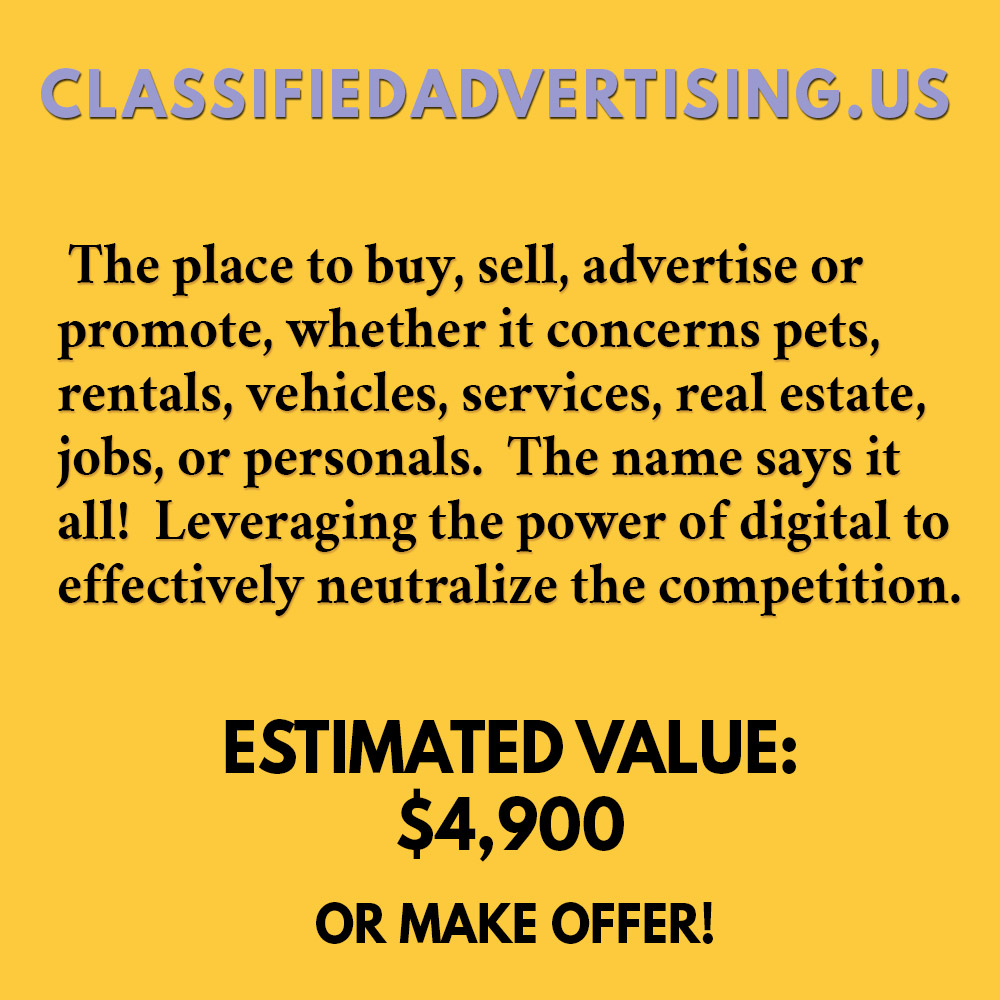CLASSIFIEDADVERTISING.US