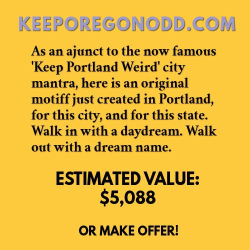 KEEPOREGONODD.COM