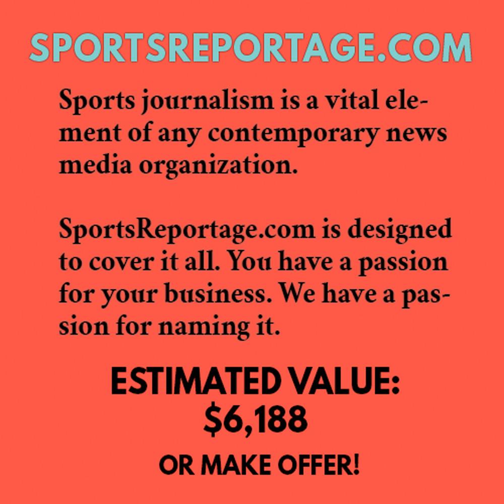 SPORTSREPORTAGE.COM