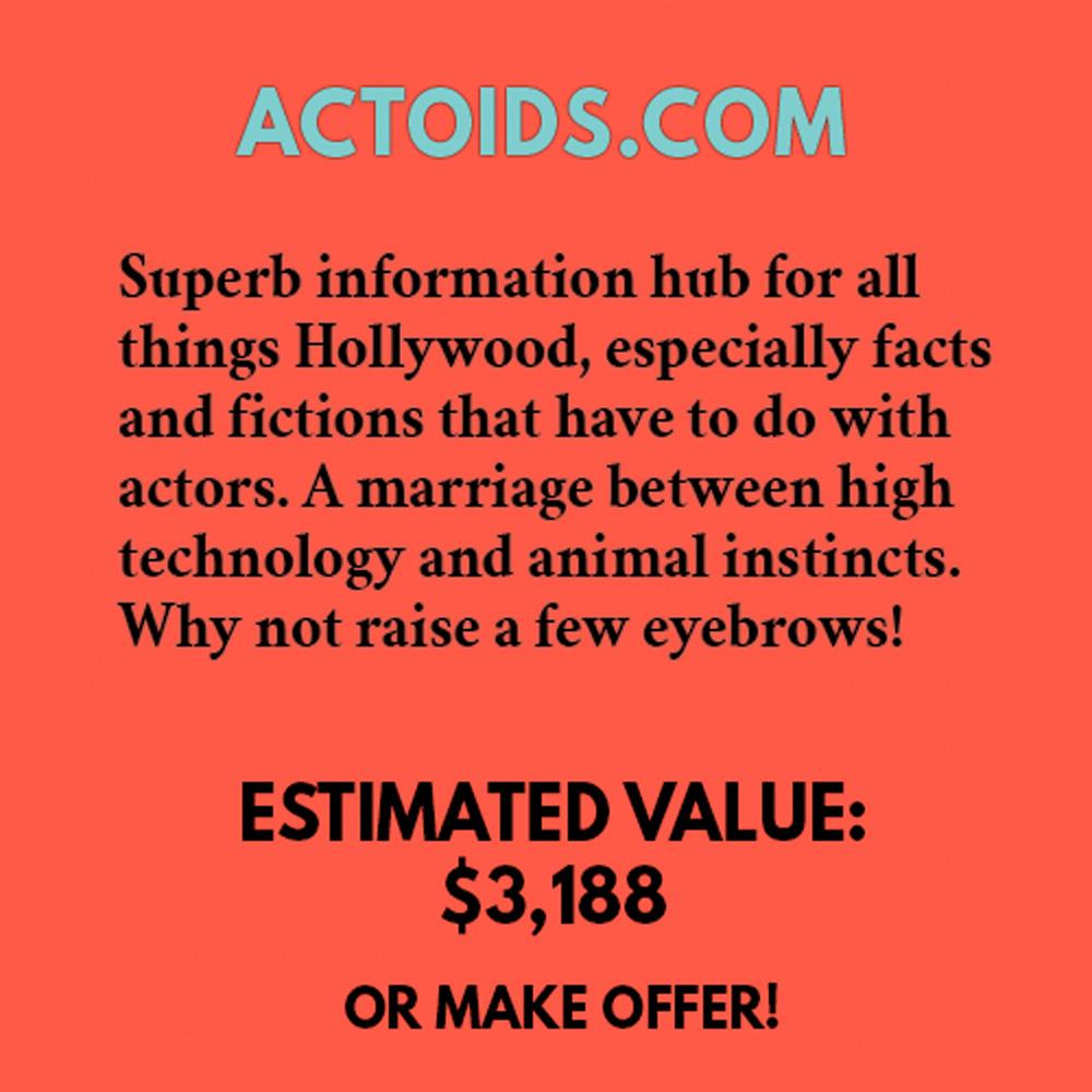 ACTOIDS.COM