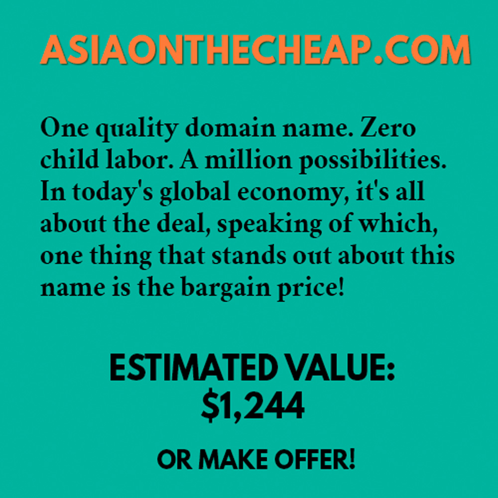 ASIAONTHECHEAP.COM