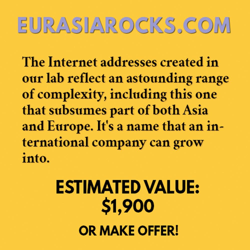 EURASIAROCKS.COM