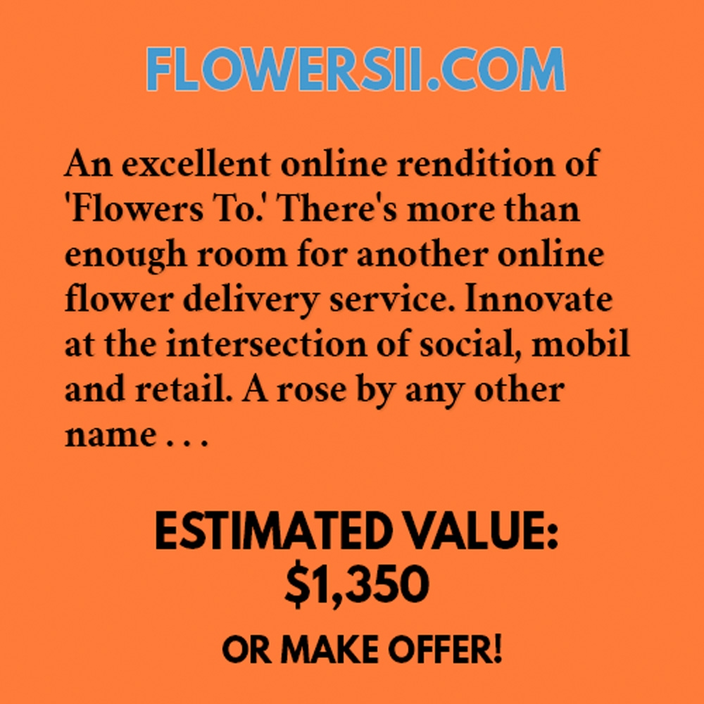 FLOWERSII.COM