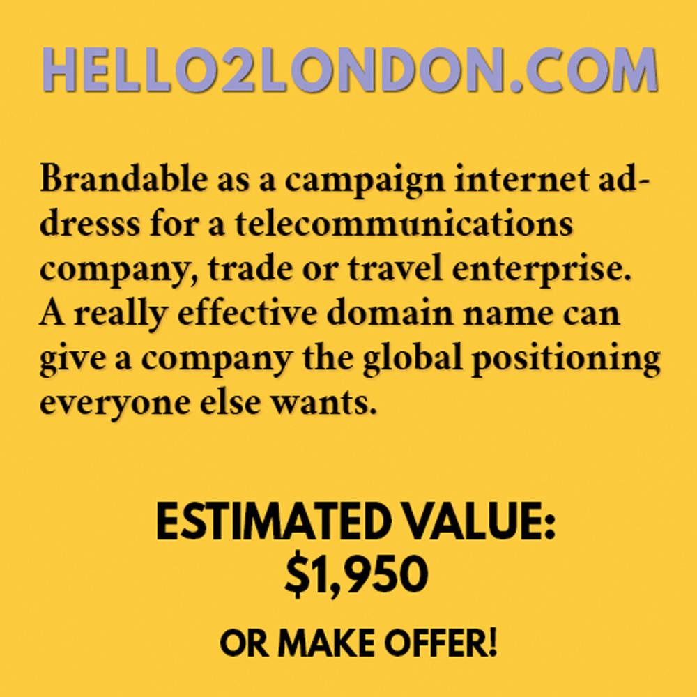 HELLO2LONDON.COM