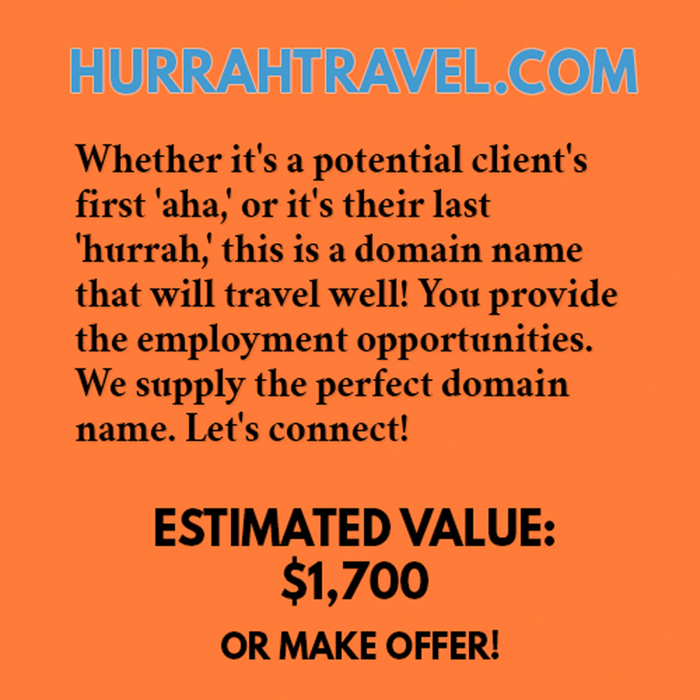 HURRAHTRAVEL.COM