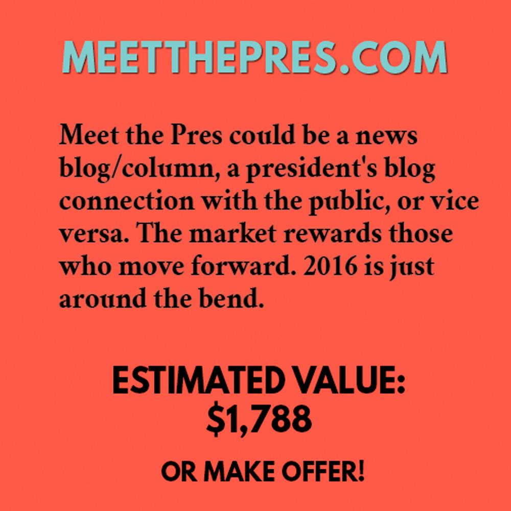 MEETTHEPRES.COM