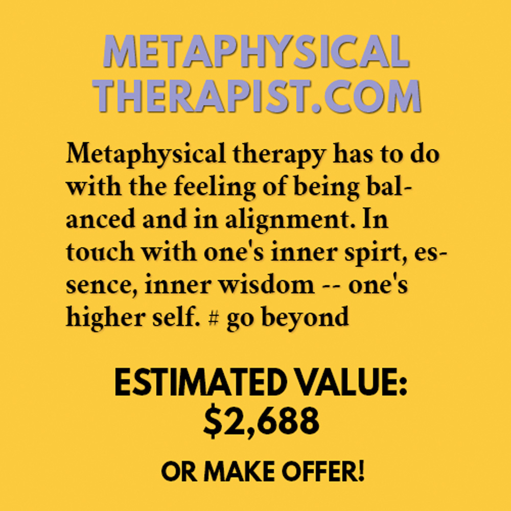 METAPHYSICALTHERAPIST.COM