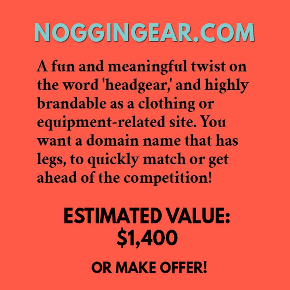 NOGGINGEAR.COM