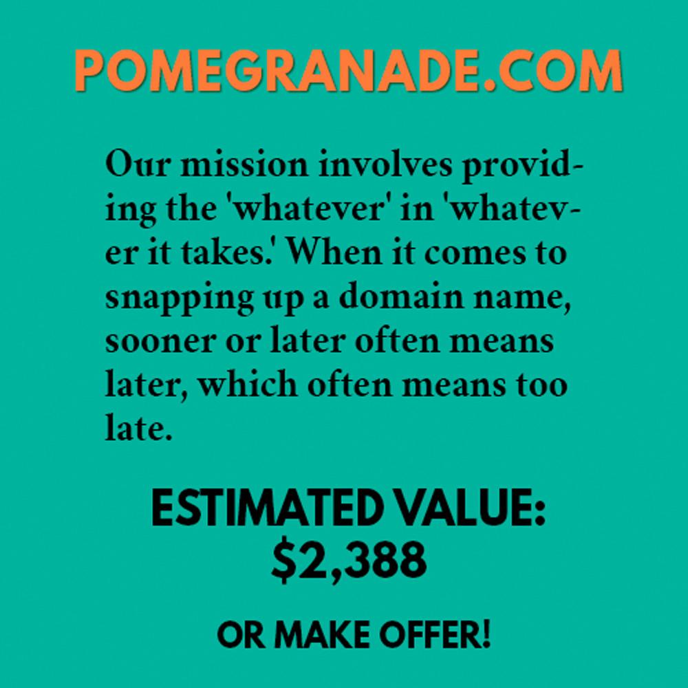 POMEGRANADE.COM