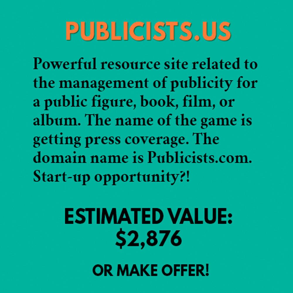 PUBLICISTS.US