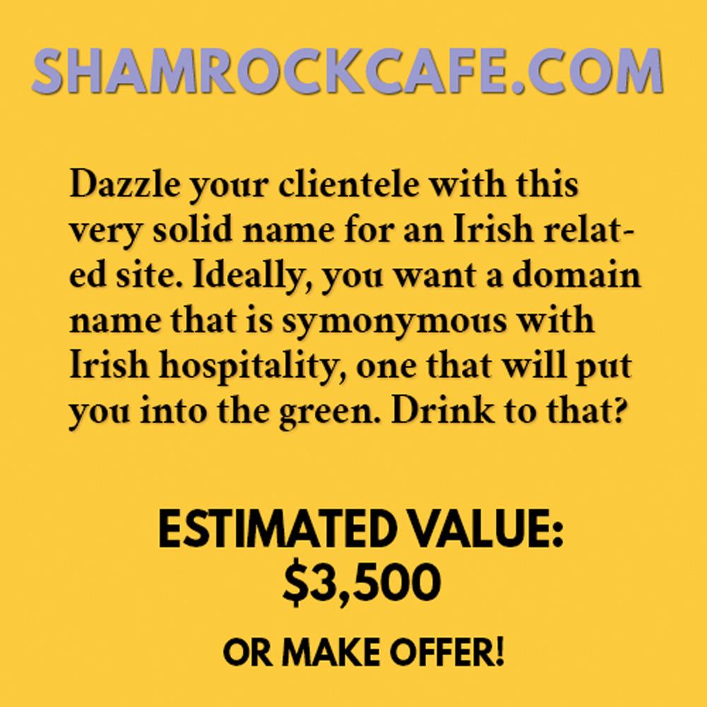 SHAMROCKCAFE.COM