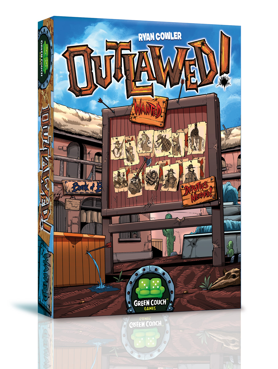 OUTLAWED 3D Box