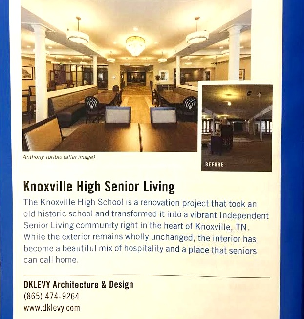 Knoxville Senior Living for Healthcare Design Magazine