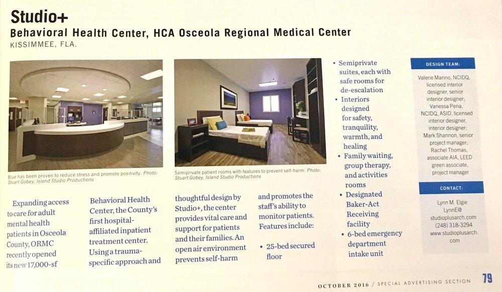 Copy of Studio+ for Healthcare Design Magazine