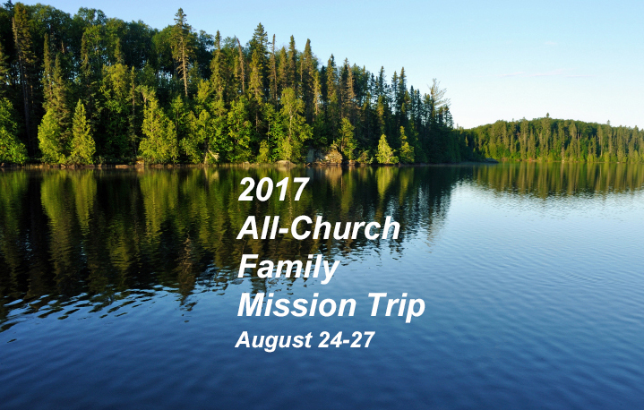 SIGN UP: 2017 MISSION TRIP
