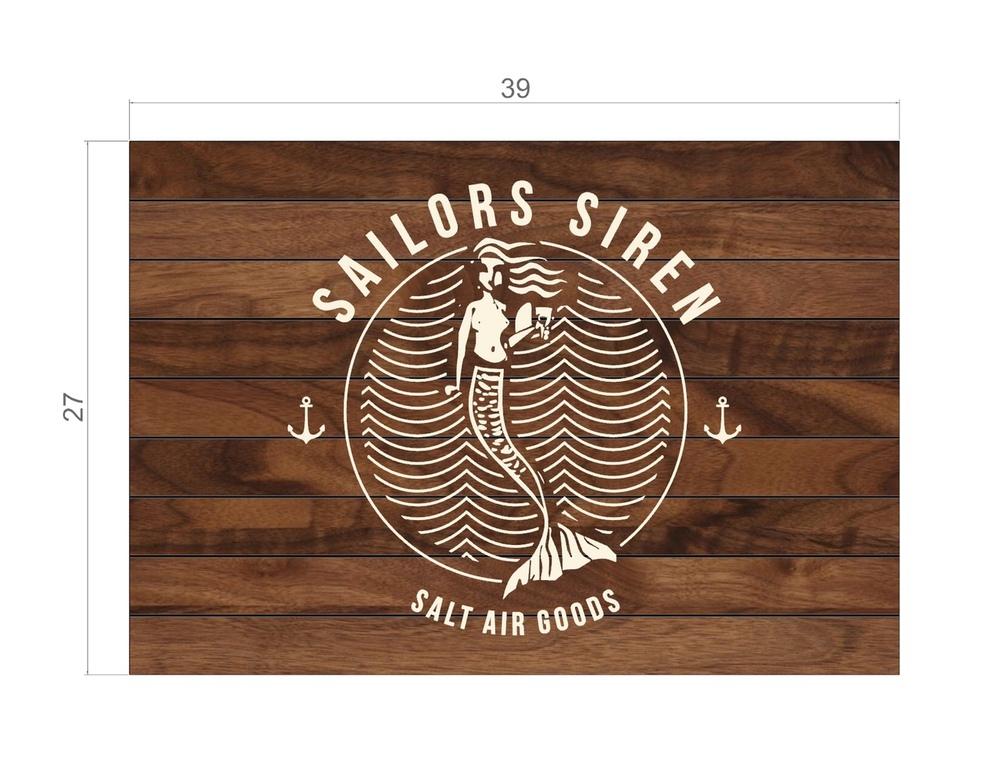 Sailors Siren New Sign!
