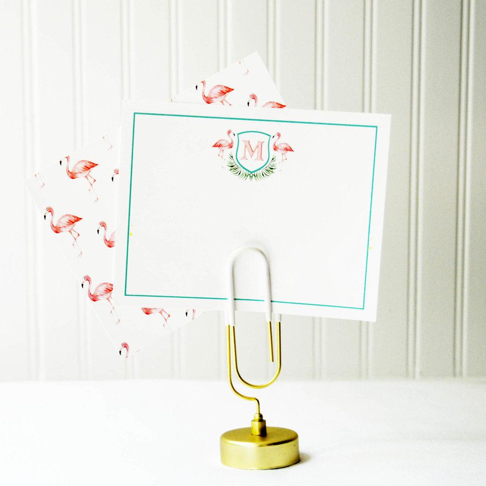 pink flamingo flat notecard.jpg