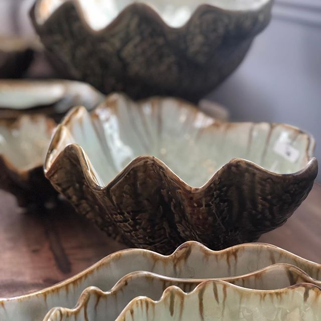 A wedding season favorite! I don't think we've done a registry that doesn't include our handmade @aeceramics oyster or urchin series! #saltairgoods
