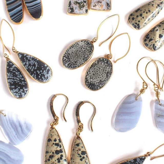 One of a kind, handmade, salt air inspired goods are kind of our thing. @seaandstonejewelry has the same mission, which is one of the many reason we love her and her jewelry! #saltairgoods