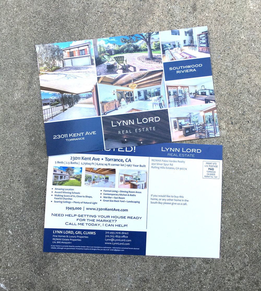 Marketing Property Postcard