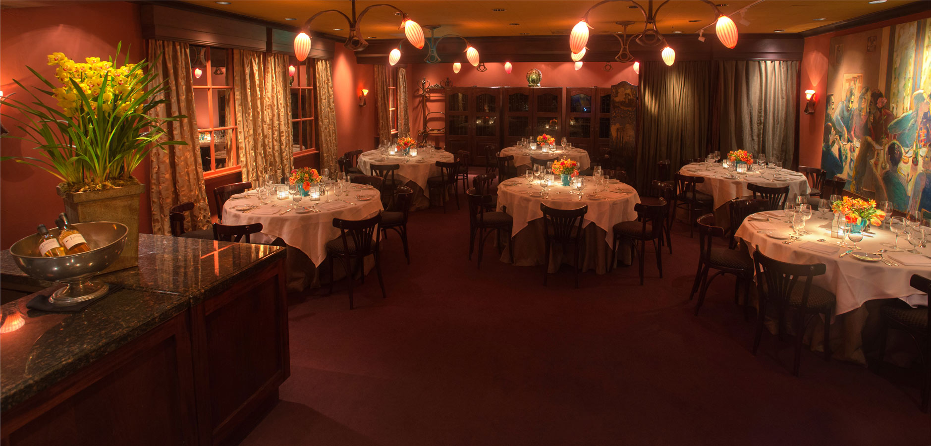 private dining — boulevard restaurant