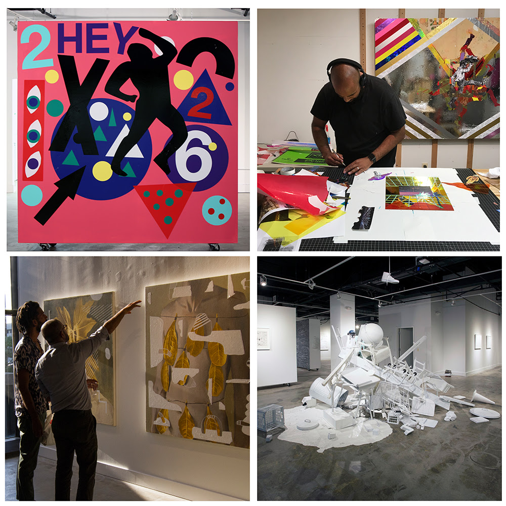 The pes air program is an annual initiative that invites four visual or multidisciplinary artists to newark nj to create work around social impact
