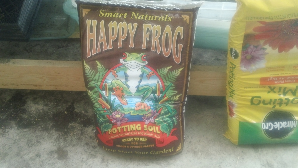 Potting soil also comes in a variety of ways. Bottom line: you get what you pay for.