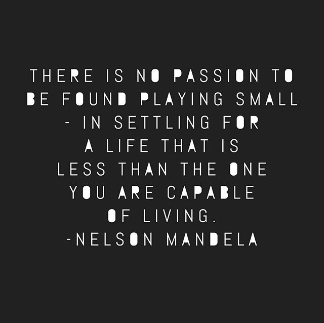 I need to repeat this one to myself, especially when I feel a bit low. ✨✨🙌 #nelsonmandela