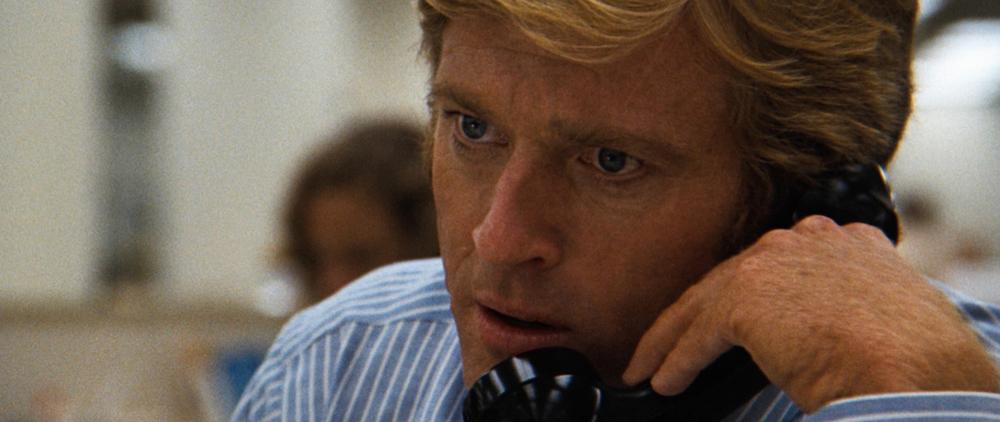 Robert Redford in All The President's Men (1976).